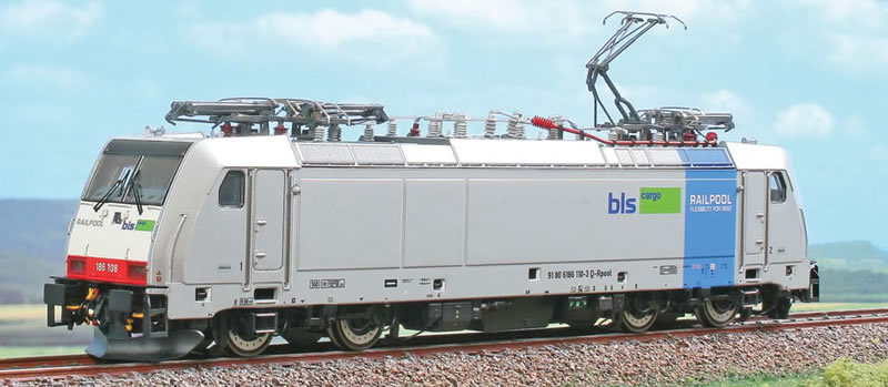 ACME 65525 BLS/Railpool 186 107 silber AC