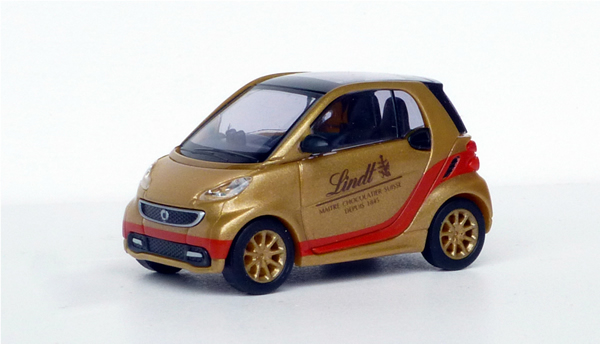 Busch 46205 Smart Fortwo 2012 Lindt