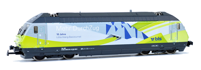 Hag 28 700-32 BLS Re 465 001 10 Jahre LBT AC Sound NH