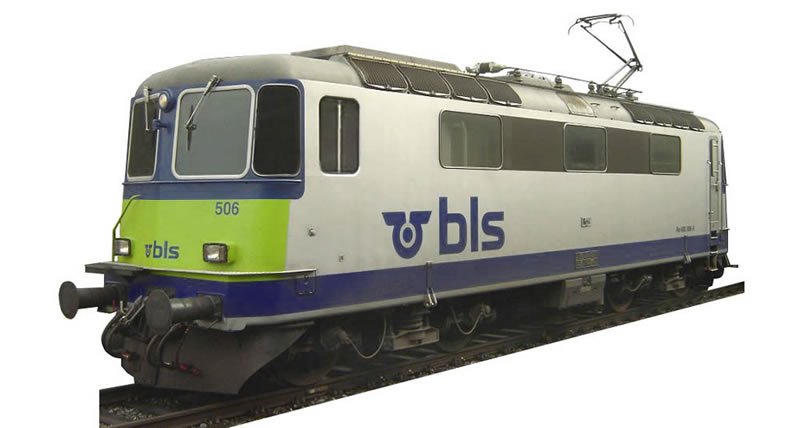 Hag 16 078-21 BLS Re 420 DC digital NH