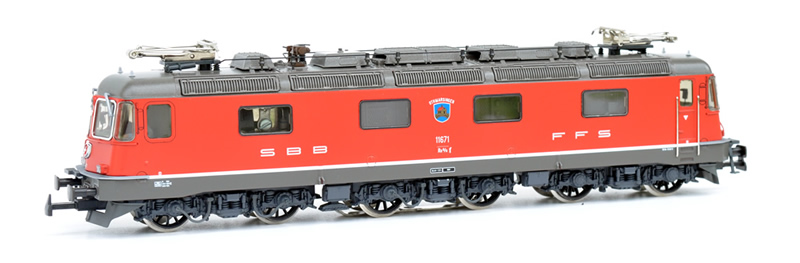 Hag 20 525-31 SBB Re 6/6 11671 Othmarsingen rot AC digital