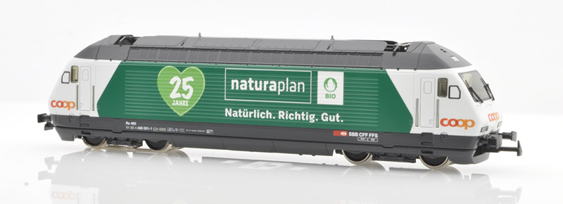Hag 28 289-32 SBB Re 460 001-1 Coop Naturaplan AC Sound