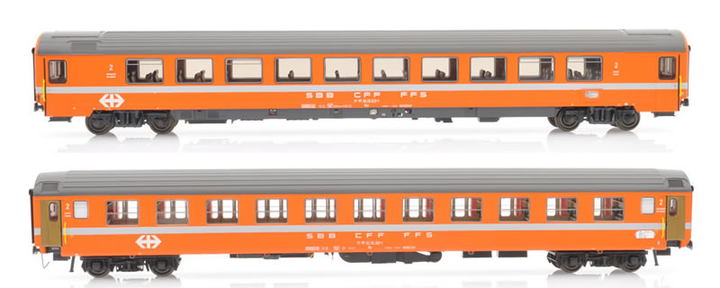 Pirata/LS Models 97016 SBB EC 40 Monteverdi Bpm/Bm orange Ep IV