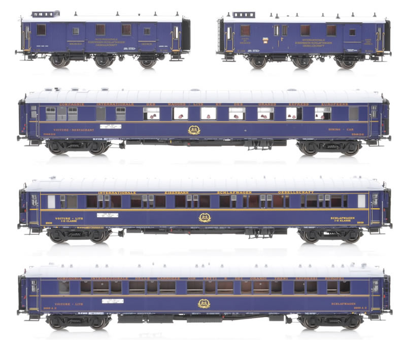 LS Models MW1004 Train Bleu Wagenset 5-teilig Ep II