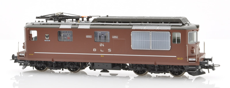 Roco 73819 BLS Re 4/4 174 Frutigen braun DC Sound