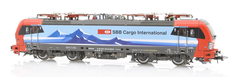 Roco 73944 SBB Vectron 193 477 Simplon DC Sound